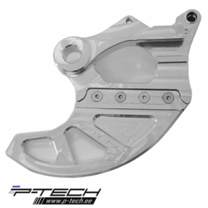 Rear brake disc guard